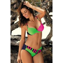 Costum de baie Dragana Green Rosa PRO LOVE
