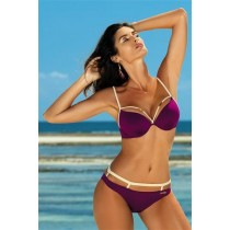 Costum de baie Emma Magenta Purple PRO LOVE