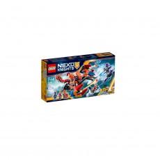 LEGO NEXO KNIGHTS Dragonul aruncator de roboti al lui Macy 70361