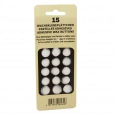 Set 15 buline adezive pentru fixarea lumanarilor, ⌀2cm, 82606 Germag