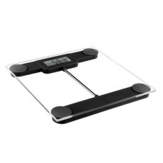 Cantar Digital Corporal DomoClip DOM253N,150 kg,Stand-by automat, Indicator consum Baterie, Negru