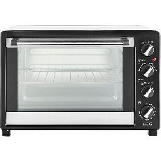 Cuptor electric ECG ET 4520 Stainless , 2000 W, 45 L, timer, grill, rotisor