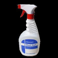 Dezinfectant suprafete cu pulverizator Maxil Sept Ultra Rapid, 1 litru