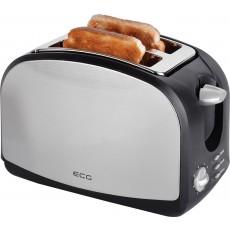 Prajitor de paine ECG ST 968, 900W, reincalzire, dezghetare, anulare, 2 felii