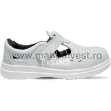 Sandale de protectie albe SIBARI MABO INVEST