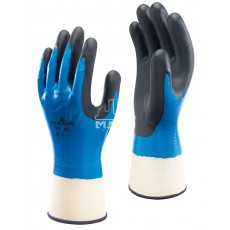 Manusi de protectie din nailon/poliester impregnate total NITRILE FOAM GRIP 377 MABO INVEST
