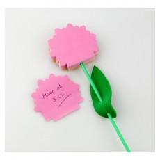 Biletele adezive flori - Bujori roz cu portocaliu ALEXER SRL