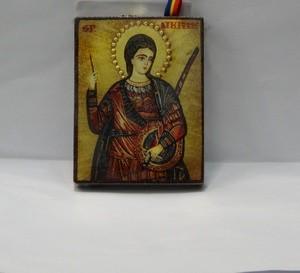 Icoana pictata pe lemn cu Sfantul Dimitrie 550 Dasinu